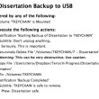 Automating my Dissertation Backup with Keyboard Maestro