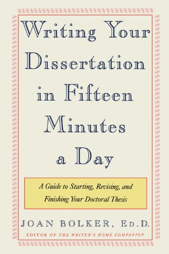 purchase a dissertation 15 minutes